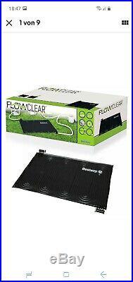 BESTWAY Flowclear Pool Solarmatte Solarheizung Poolheizung 171 x 110cm Neu