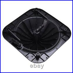 Black Outdoor Solar Dome Inground &Above Ground Swimming Pool Water Heater
