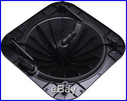 Black Outdoor Solar Dome Swimming Pool Water Heater Protective Heavy Duty