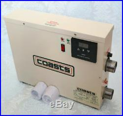 COASTS 18KW WATER HEATER THERMOSTAT for SWIMMING POOL POND & SPA