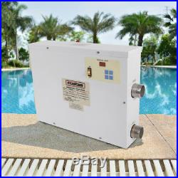 COASTS Electric Water Heater Thermostat 9KW 220V For Swimming Pool & Bath