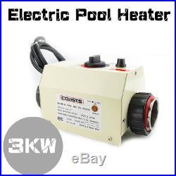 COASTS Swimming Pool & SPA Tub Bath Electric Bathtube Water Heater Thermostat