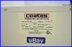 Coates 12411ST Electric Swimming Pool Heater, 240-volt Discontinued by Manufact