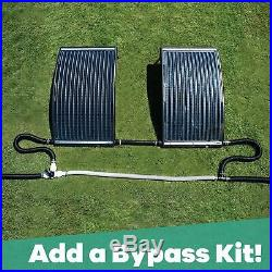 Curve Solar Pool Heater Bestway Above-Ground and Inground Pools
