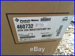 DAMAGED Pentair MasterTemp 250 K BTU Natural Gas Pool Spa Heater 460732