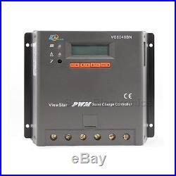EPSOLAR 60A 12V 24V 36V 48V ViewStar VS6048BN EP PWM Solar Charge Controller