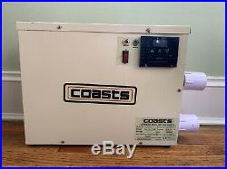 Electric Pool Heater. 110KW / 220V. Just used for a couple of weeks