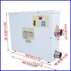 Electric Water Heater 5.5/9/11/15/18KW 220V Swimming Pool SPA Hot Tub