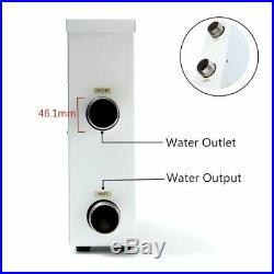 Electric Water Heater Hot Tub Digital Thermostat Swimming Pool+SPA Bath 9KW 220V