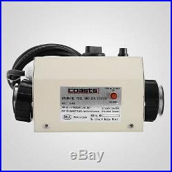 Electric Water Heater Thermostat 3KW Swimming Pool & Bath SPA Hot Tub 50/60Hz