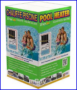 Enersol 1'x10' Above Ground & In-Ground Swimming Pool Solar Heater withHardware