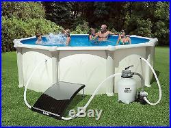 GAME 4721 SolarPRO Curve Solar Pool Heater Intex & Bestway Pools Inc. Adapter