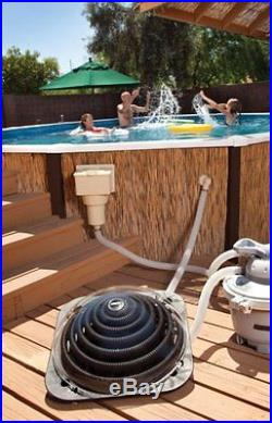 GAME SolarPRO Contour Solar Powered Dome Swimming Pool Water Heater 4714