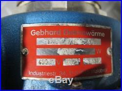 Gebhard Elektrowärme Wärmetauscher Elektrowärmetauscher Poolheizung #25629