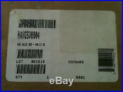 HAXGSV0004 HAYWARD GAS VALVE H-SERIES 150 400K BTU PROPANE DS FREE SHIPPING
