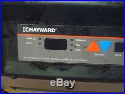 HAYWARD H150FDN POOL SPA NATURAL GAS HEATER