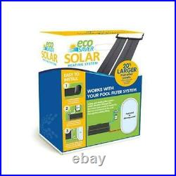 HORIZON VENTURES EcoSaver 30 x 10' Solar Panel Pool Heater for Above Ground
