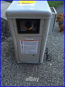 Hayward 100k btu natural gas swimming pool spa induced draft heater h100id1 for Hayward electric swimming pool heaters
