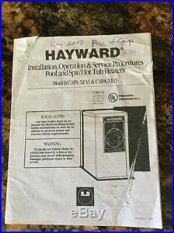 Hayward CSPAXI11 11KW Comfortzone C-Spa Xi Electric Spa & Pool Heater