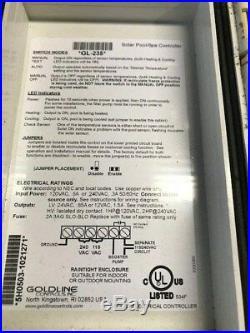 Hayward Goldline GL235 Pool Solar Panel Controller USED
