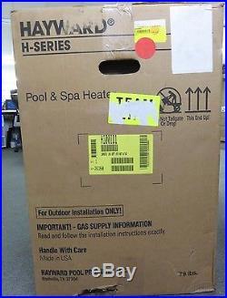 Hayward H100ID1 H-Series Low NOx 100,000 BTU Natural Gas Pool and Spa Heater