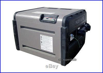 Hayward H250FDP 250 K btu H250 Low NOx LP Propane gas swimming pool spa heater