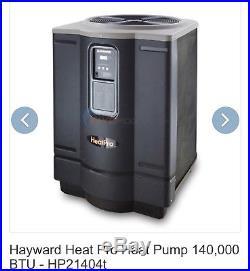 Hayward HP21404T HeatPro 140,000 Pool and Spa Heat Pump