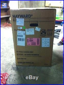 Hayward H series 100k btu propane pool heater