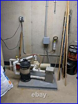 Hayward Pool, Spa or Hot Tub- Pump, Heater, Filter and Ozone-Complete Package