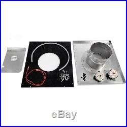 Hayward Universal H-Series Heater Indoor Vent Adapter Kit (H250) UHXNEGVT12501