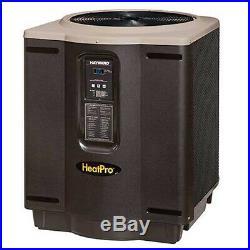 Hayward W3HP21004T Swimming Pool Heat Pump, 95,000 BTU Square Platform Titanium