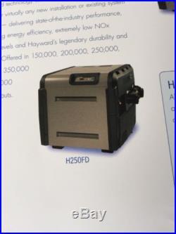 Hayward gas pool heater, 250,000 Btu