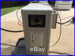 Hayward pool heater, natural gas, 100,000 btu, H100ID
