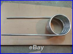 Heat Exchanger Schwimbad Pool Heater Stainless Steel 22mm, Badebottich
