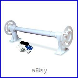 Hydro Tools 54000 Aluminum Pole Pool for Solar Blanket Reel Systems 52000/53000
