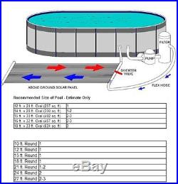 In Ground / Above Ground Swimming Pool Solar Panel Heating System Heater 90100