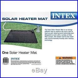 Intex Calentador Solar Mat Por Encima De Piscina De Tierra 47in X 47in