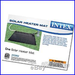 Intex Solar Heater Mat Water Heater Pad for Above Ground Swimming Pools 28685E