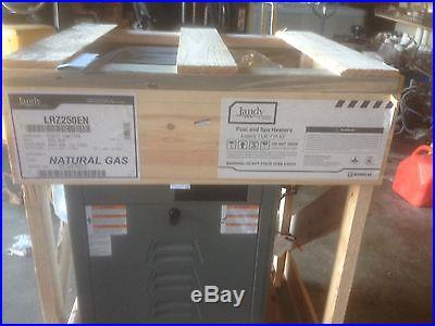 Jandy LRZ250EN Natural gas pool heater