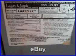 Laars LX400P Gas Pool Heater, AS IS