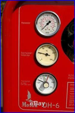 MOTAN SWINGTEC DH6 DURCHLAUFERHITZER 3000L/h 70-105kW POOLHEIZUNG DIESEL PÖL THW