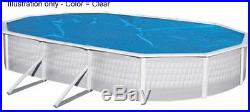 Magni-Clear Solar Cover 18' x 33' Oval Above Ground Swimming Pool 5 Yr Warranty