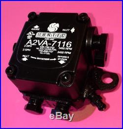 NEW A2VA-7116 SUNTEC OIL PUMP MODEL A2VA-7016 One-Stage Fuel Unit Rotation RH