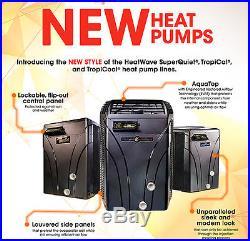 NEW AquaCal SuperQuiet SQ120R Heat Pump 3YR P&L Warranty FL & NE USA
