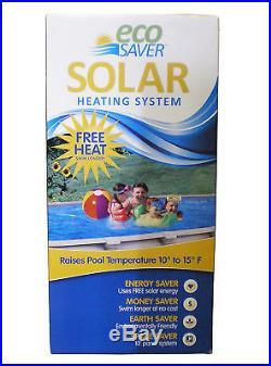 NEW HORIZON ECOSAVER SOLAR PANEL 30 X 20' SWIMMING POOL HEATING SYSTEM