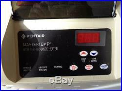 NEW Pentair MasterTemp Pool and Spa Heater 250 PROPANE 250000BTU 460733 BSR