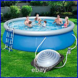 NEW Solar Water Heater Inground & Above Ground Swimming Pool Water Heater Black