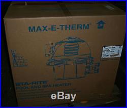 NEW Sta-Rite SR400NA Max-E-Therm Pool & Spa Heater Natural Gas 400000 BTU $1949