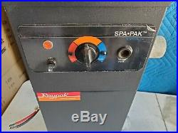 Nice Used Raypak Spa-Pak R-1102-2 11KW 240V Electric Spa Heater 11K Watts WF2