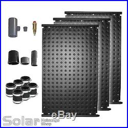 OKU Schwimmbad Solar Heizung Paket 3x Absorber Typ 1002 3,36 m² Poolheizung